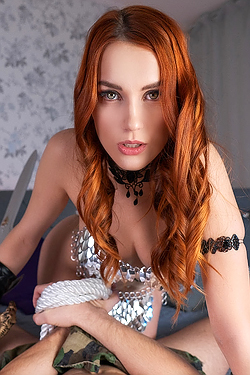 Charlie Red Red Sonja